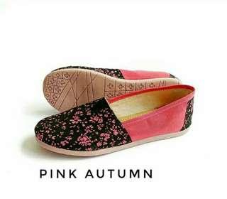 Sepatu Canvas Pink Autumn