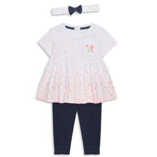 PRIMARK BABY GIRL TUNIC SET