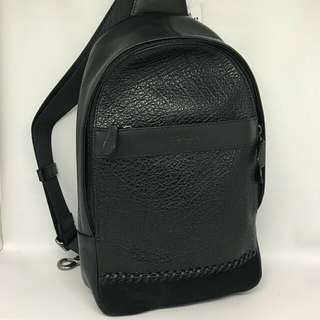 Coach Charles Sling Pack Black
