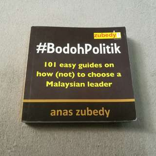 #BODOHPOLITIK book