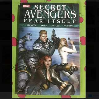 Marvel Secret Avengers Fear Itself