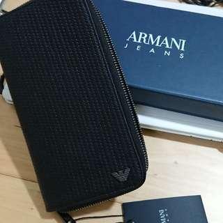 全新Armani Jeans長銀包