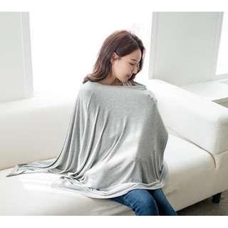 Modal料多功能哺乳斗篷圍巾/餵奶巾