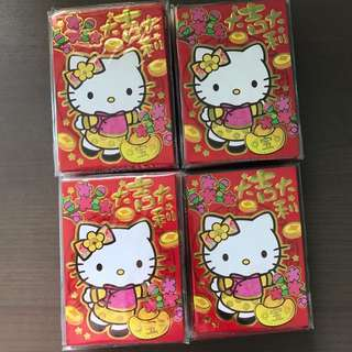 All 37packs hello kitty red packet