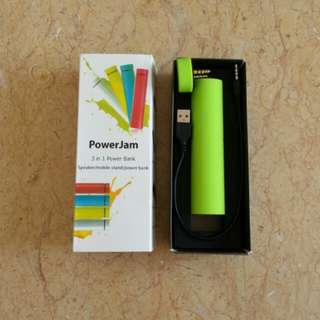 3-in-1 4000mAh Power Bank + Speaker + Stand