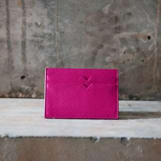 Card Holder in Saffiano Leather *3 COLORS*