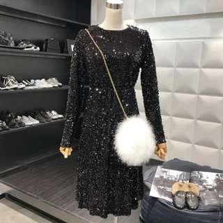 Sequins glitter dress Prom dress