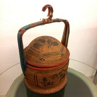 Authentic Antique Chinese Basket
