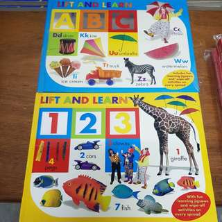 Lift & Learn ABC & Numbering