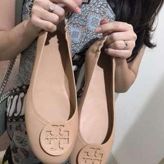 Tory Burch Minnie Ballet Flat Shoes Brand New