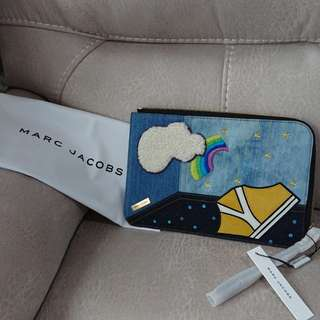 全新Marc Jacobs clutch / ipad case