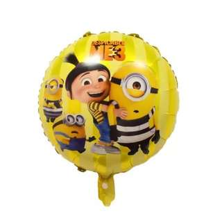 🌈 Minions party supplies - party balloons / party deco / Minions balloons