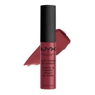 NYX Soft Matte Lip Cream in Budapest