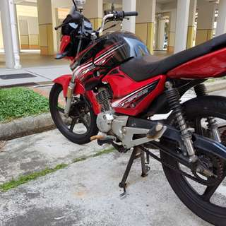 2b bike for rent. Yamaha ybr