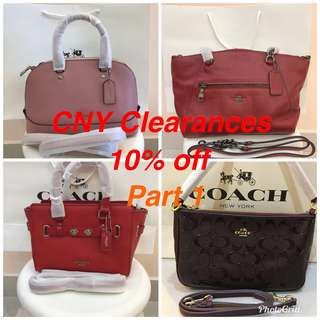 Ready Stock Promotion Authentic Coach Temporary listing
