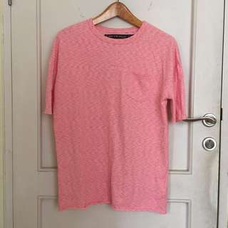 Factorie Pink Beggy Tee/Short dress