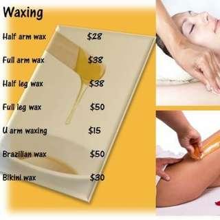 Waxing service