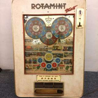 Antique Rotamint Slot Machine Rare
