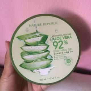 Nature Republic soothing gel aloe vera