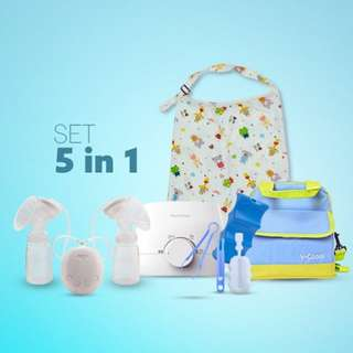 Breast Pump combo 5 in 1