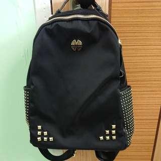 BN Ladies Black Color Haversack Backpack