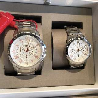 Original Fossil Couple Watches (can be sold separately)