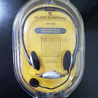 Altec Lansing Headset with Microphone