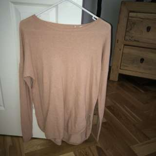 Country Road Long Sleeved Knit - Peach
