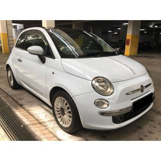 23/02-26/02/2018 FIAT 500 $180.00 ONLY (P PLATE WELCOME)