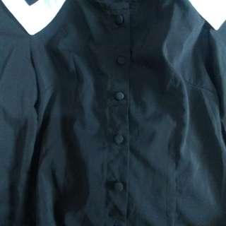 Sailor like black blouse