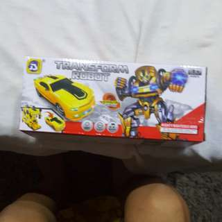 Car transformer battery operated