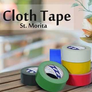 ST. MORITA - CLOTH TAPE - LAKBAN KAIN 48 mm - Yellow