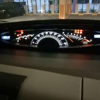 Toyota Estima speedometer led change