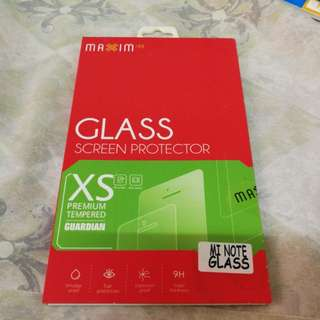Xiaomi Note Tempered glass