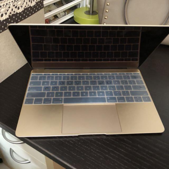 12 inch MacBook Gold