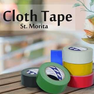 ST. MORITA - CLOTH TAPE - LAKBAN KAIN 48 mm - Green