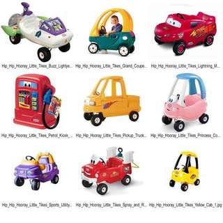 RENTAL - Little Tikes Manual Ride On / Kiddy Ride