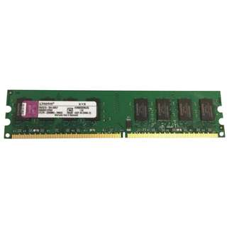 [USED] KINGSTON DDR2-800 (PC2-6400) 2GB DIMM SDRAM, non-ECC