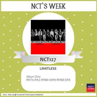 (PROMO UNTIL 25/2) NCT 127 - LIMITLESS