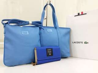 Lacoste Replica bag set, Size:17x13 inches High Quality