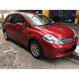 23/02-26/02/2018 NISSAN LATIO $180.00 ONLY ( P PATE WELCOME)