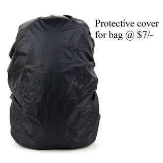 Rain cover for Bag @7/-