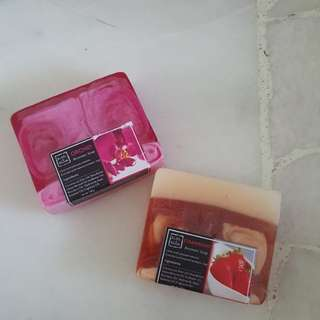 Handmade aromatic soap