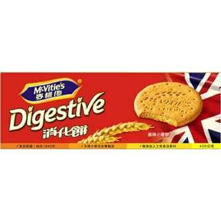 麥維他 消化餅乾 400g 口糧 Digestive 原味餅乾