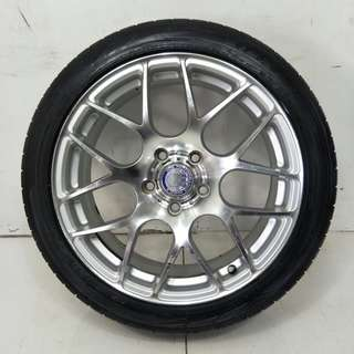 "17"" Sport Rim With Tyre 5x114.3 (SR927)"