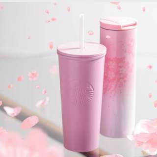 Starbucks Sakura Tumbler with lid