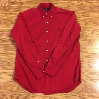 👌🔥👕💯% authentic polo ralph lauren button down