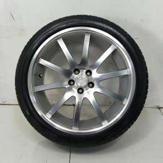 "18""  Sport Rim With Tyre 5x100 (SR928)"