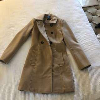 Tokito Camel Winter Coat Size 6