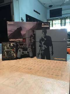 Play Station 4 Uncharted Limited Edition